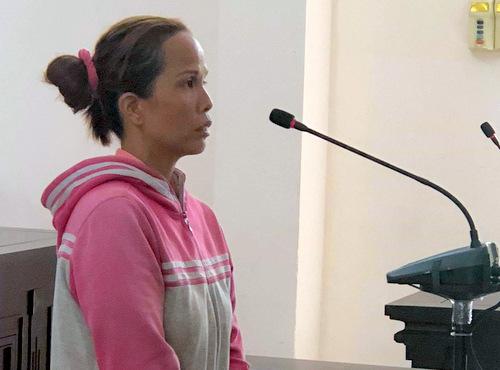Trần A Gịn tại tòa. Ảnh: Trang Trang