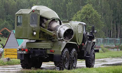 Tổ hợp TMS-65U của Nga. Ảnh: Vitaly Kuzmin.