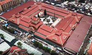 Chợ lớn nhất Sài Gòn mở cửa buôn bán sau hai năm sửa chữa