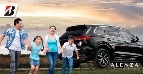 Chương trình là dịp để Bridgestone giới thiệu dòng lốp Alenza dành cho CUV và SUV cao cấp.