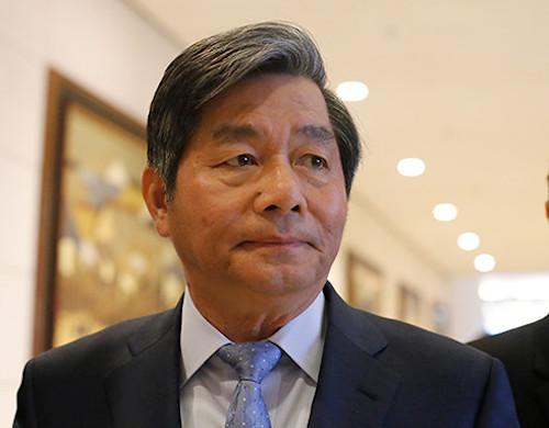 Nguyên Bộ trưởng Kế hoạchĐầu tư Bùi Quang Vinh. Ảnh: P.V