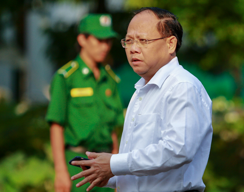 Member of the Central Committee, Deputy Secretary of the Ho Chi Minh City Party, Tat Thanh Cang. Image: Thanh Nguyen.