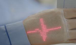 Da điện tử theo dõi sức khỏe người bệnh