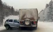 Những vụ tai nạn ôtô chỉ có ở xứ lạnh