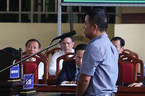 Bị cáo Phạm Quang Minh. Ảnh: Phạm Dự