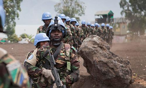 7 binh sĩ gìn giữ hòa bình thiệt mạng khi đọ súng với phiến quân Congo