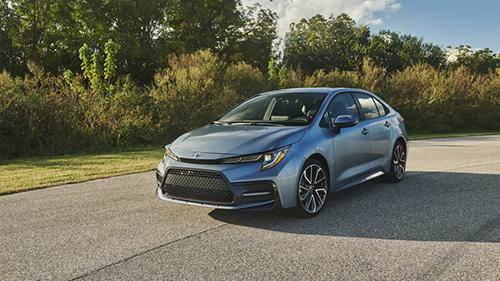 Corolla 2020 ra mắt tại Mỹ.