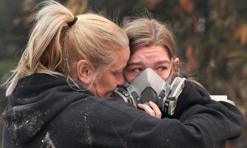 Số người mất tích trong cháy rừng ở California tăng lên hơn 600