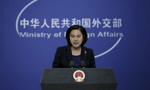 Người phát ngôn Bộ Ngoại giao Trung Quốc Hoa Xuân Oánh. Ảnh: Reuters.