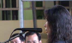 Chị họ Phan Sào Nam khóc trước tòa