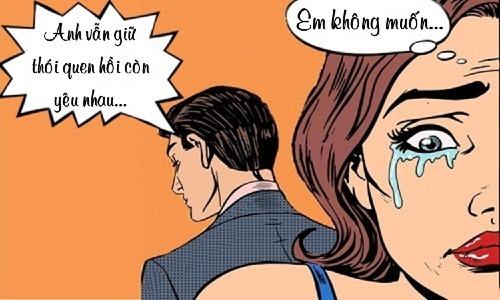 Vợ đau khổ khi chồng không thay đổi