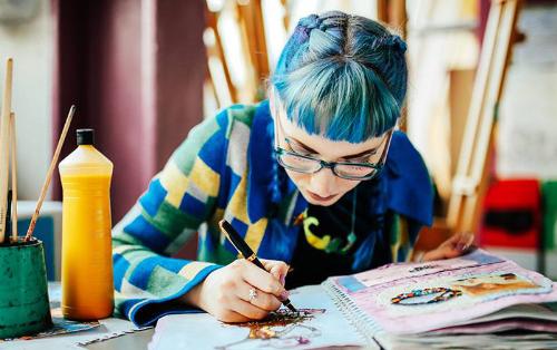 University of the Arts London ung cấp hơn 100 khóa học về kiến trúc, thiết kế, thời trang, truyền thông, mỹ thuật...