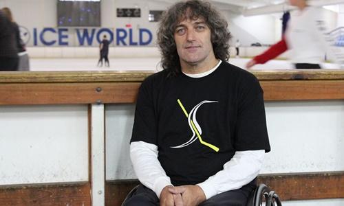Vận động viên khuyết tật Darren Belling. Ảnh: ABC News.