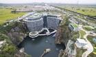 Khách sạn 5 sao trong mỏ đá sâu 88 mét ở Thượng Hải