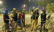 CSGT TP HCM xử lý hàng loạt người đi xe đạp vào làn ôtô