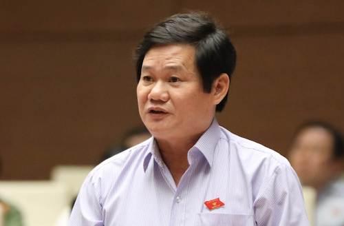 Đại biểu Lê Công Nhường. Ảnh: Hoàng Phong