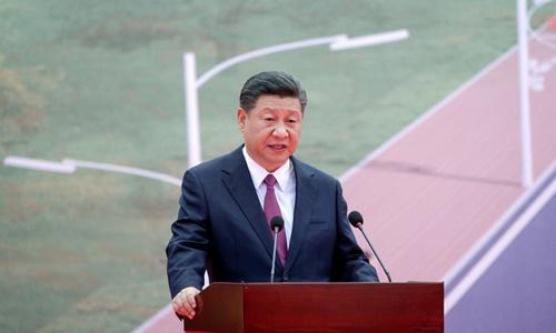 Chủ tịch Trung Quốc Tập Cận Bình phát biểu tại Papua New Guinea hôm 16/11. Ảnh: Reuters.