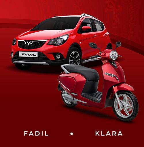 Hình ảnh Fadil trên một bảng quảng cáo điện tử. Ôtô cỡ nhỏ của VinFast sẽ xuất hiện thực tế trong tuần tới.