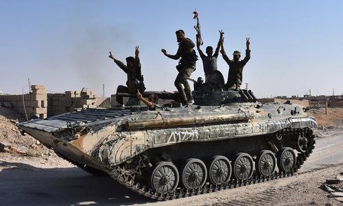 Quân đội Syria đánh bật IS khỏi thành trì cuối cùng ở miền nam