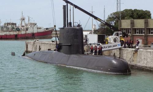 Argentina thừa nhận không đủ sức trục vớt tàu ngầm bị chìm