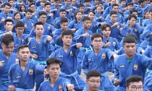 7.000 người xác lập kỷ lục võ thuật Việt Nam