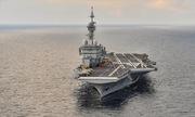 Chuyến ra biển trên tàu sân bay hạt nhân duy nhất của châu Âu