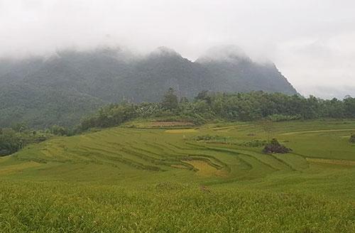 Miền núi Bắc Trung Bộ sẽ đón gió mùa đông bắc vào ngày 19/11. Ảnh: Lê Hoàng