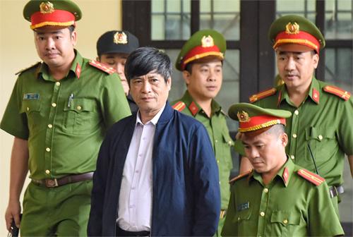 Cựu cục trưởng Nguyễn Thanh Hoá nằm trong danh sách những người hầu toà.