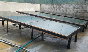 Ngư dân Hà Tĩnh làm mắm cá bằng năng lượng mặt trời