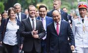 Ngày làm việc của Thủ tướng Nga tại Việt Nam