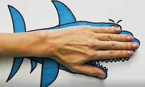 Dạy trẻ vẽ con vật bằng tạo hình năm ngón tay