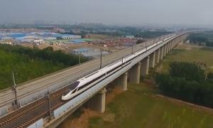 Trung Quốc thử nghiệm tuyến đường sắt cho tàu vận tốc 250 km/h