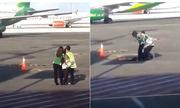 Hành khách Indonesia xông vào đường băng, đuổi theo máy bay sắp cất cánh