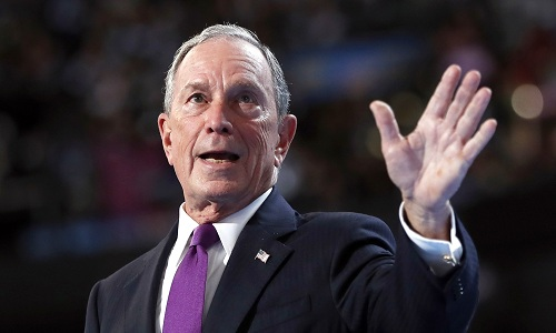 Michael Bloomberg. Ảnh: Washington Examiner
