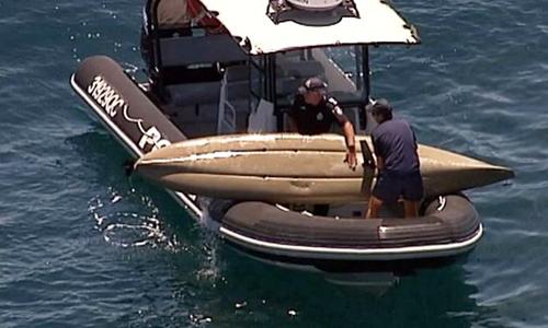 Đội cứu hộ có mặt kịp thời để giải cứu nạn nhân. Ảnh: Telegraph.