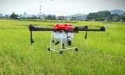 Drone phun thuốc trừ sâu hiệu quả gấp 40 lần con người