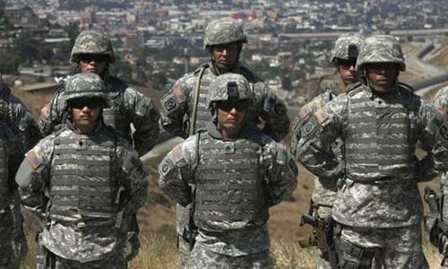 Mỹ dự chi 72 triệu USD để triển khai quân đội bảo vệ biên giới