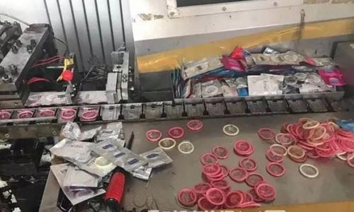 Trung Quốc tịch thu 500.000 hộp bao cao su giả, bắt 17 nghi phạm