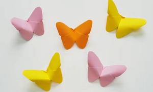 Dạy trẻ sáng tạo con vật từ gấp giấy