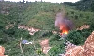 Hà Tĩnh tiêu hủy gần 800 quả mìn tìm thấy trong vườn nhà dân