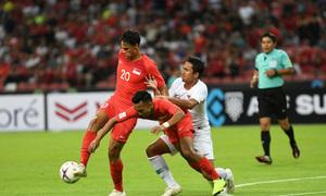 Singapore 6-1 Timor Leste