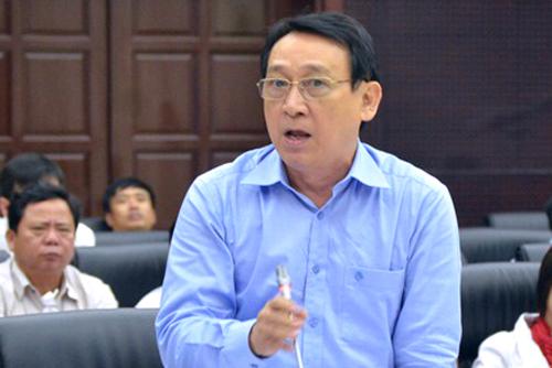 Ông Huỳnh Tấn Vinh. Ảnh: Ngọc Trường.