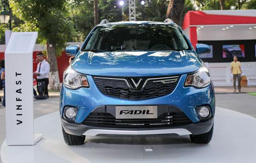Mẫu ôtô cỡ nhỏ của VinFast mang tên Fadil, ý nghĩa khoáng đạt, rộng lượng. Ảnh: Ngọc Tuấn.