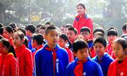 Nữ sinh lớp 6 Trung Quốc cao hơn 2 mét