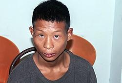 Nguyễn Ninh Minh tại cơ quan công an. Ảnh: Hồng Quyến
