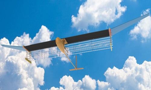 Đây là mẫu máy bay đầu tiên trên thế giới không có các bộ phận chuyển động. Ảnh: MIT.