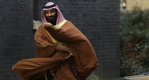 Thái tử Arab Saudi Mohammed bin Salman. Ảnh: AP.