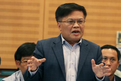 Viện trưởng CIEM Nguyễn Đình Cung. Ảnh: Võ Hải.