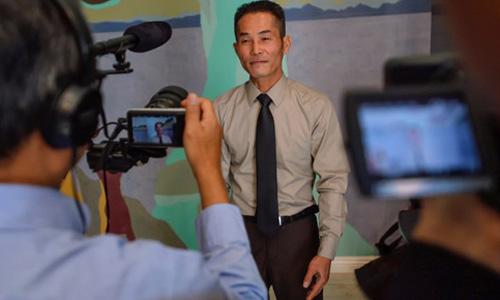 Ông Nguyen Thanh Tung, một trong 3 người gốc Việt vừa được nhận lệnh ân xá. Ảnh: ORC.
