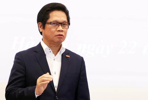 Chủ tịch VCCI Vũ Tiến Lộc. Ảnh: Võ Hải.
